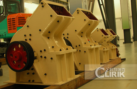 PC600*400 Hammer crushing plant