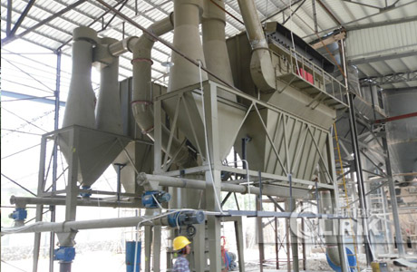Synthetic Cordierite Grinding Plant/Powder Processing Plant