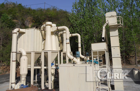 Pyrophyllite powder processing plant/pyrophyllite grinding plant