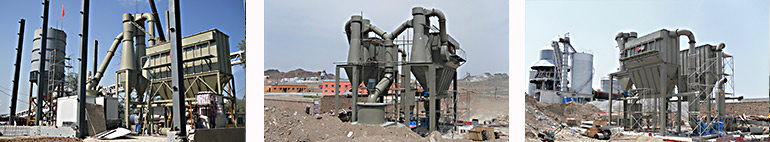 stone grinding plant