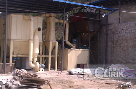 Carbonate of lime grinding plant/powder processing plant