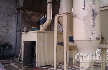 Hornblende/amphibole grinding plant/powder processing plant