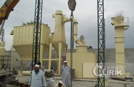 mica grinding plant/powder processing plant