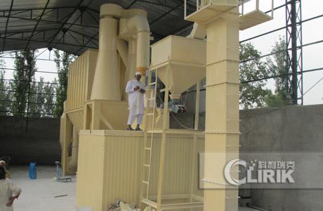 Garnet grinding plant/garnet powder processing plant