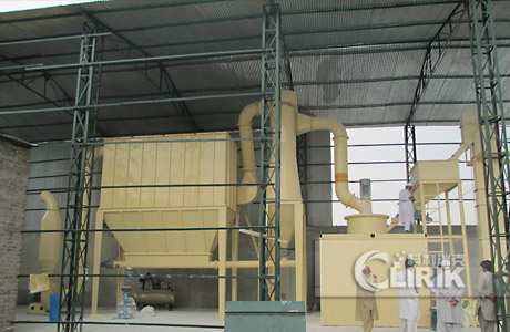 Marble grinding plant/marble powder processing machine