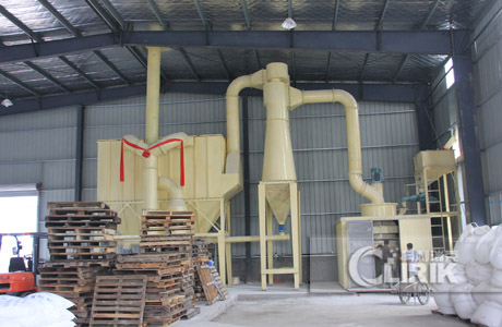 Marble powder processing plant/marble grinding plant