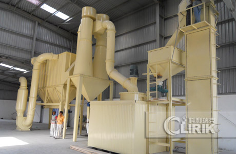 Calcium carbonate grinding plant/cacium carbonate powder processing plant