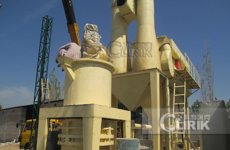 Activated carbon grinding plant/powder processing plant