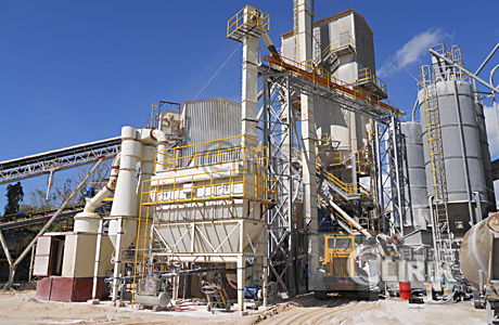 Roller Grinding Plant