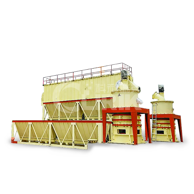 calcite grinding plant
